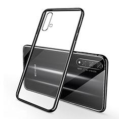Funda Silicona Ultrafina Carcasa Transparente S01 para Huawei Nova 5T Negro