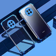 Funda Silicona Ultrafina Carcasa Transparente S01 para Xiaomi Mi 10T Lite 5G Azul