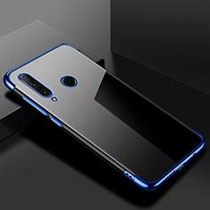 Funda Silicona Ultrafina Carcasa Transparente S02 para Huawei Honor 20 Lite Azul