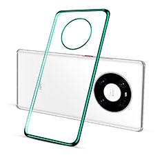 Funda Silicona Ultrafina Carcasa Transparente S02 para Huawei Mate 40 Verde