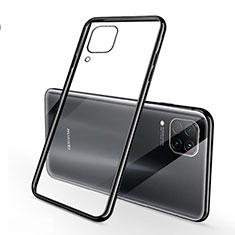 Funda Silicona Ultrafina Carcasa Transparente S02 para Huawei Nova 6 SE Negro