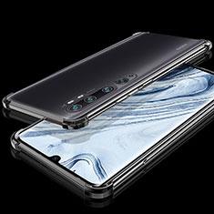 Funda Silicona Ultrafina Carcasa Transparente S02 para Xiaomi Mi Note 10 Negro