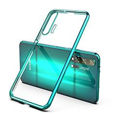 Funda Silicona Ultrafina Carcasa Transparente S03 para Huawei Honor 20 Pro Verde
