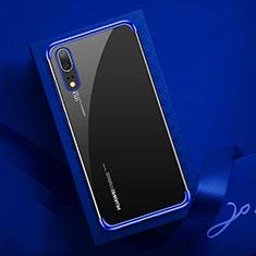 Funda Silicona Ultrafina Carcasa Transparente S03 para Huawei P20 Azul