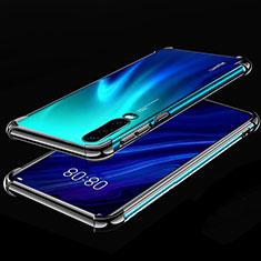 Funda Silicona Ultrafina Carcasa Transparente S03 para Huawei P30 Negro