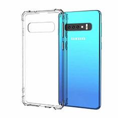 Funda Silicona Ultrafina Carcasa Transparente S03 para Samsung Galaxy S10 5G Claro