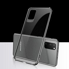 Funda Silicona Ultrafina Carcasa Transparente S03 para Samsung Galaxy S20 Plus Negro