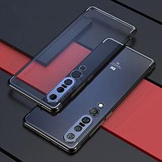 Funda Silicona Ultrafina Carcasa Transparente S03 para Xiaomi Mi 10 Pro Negro