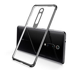 Funda Silicona Ultrafina Carcasa Transparente S03 para Xiaomi Mi 9T Pro Negro