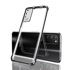 Funda Silicona Ultrafina Carcasa Transparente S04 para Huawei Honor X10 5G Negro