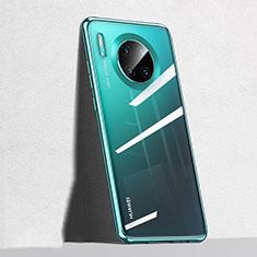 Funda Silicona Ultrafina Carcasa Transparente S04 para Huawei Mate 30 Verde