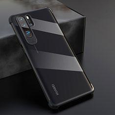 Funda Silicona Ultrafina Carcasa Transparente S04 para Huawei P30 Pro Negro