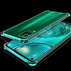 Funda Silicona Ultrafina Carcasa Transparente S04 para Huawei P40 Lite Verde