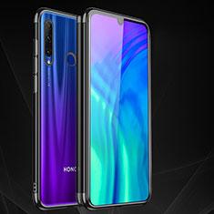 Funda Silicona Ultrafina Carcasa Transparente S05 para Huawei Honor 20 Lite Negro