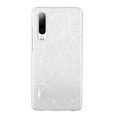Funda Silicona Ultrafina Carcasa Transparente S05 para Huawei P30 Blanco