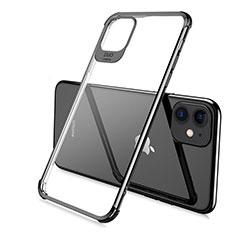 Funda Silicona Ultrafina Carcasa Transparente S06 para Apple iPhone 11 Pro Negro