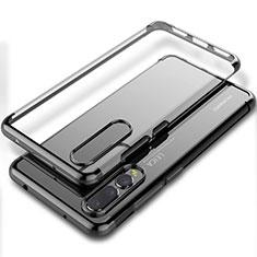 Funda Silicona Ultrafina Carcasa Transparente S06 para Huawei P20 Pro Negro