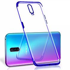 Funda Silicona Ultrafina Carcasa Transparente S06 para Oppo R17 Pro Azul