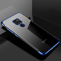 Funda Silicona Ultrafina Carcasa Transparente U01 para Huawei Mate 20 Azul
