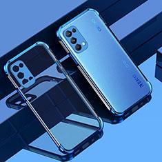 Funda Silicona Ultrafina Carcasa Transparente Z01 para Oppo Reno5 5G Azul