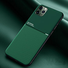 Funda Silicona Ultrafina Goma 360 Grados Carcasa C01 para Apple iPhone 11 Pro Max Verde