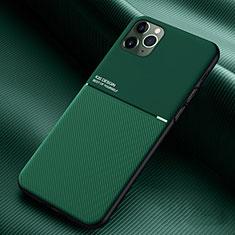 Funda Silicona Ultrafina Goma 360 Grados Carcasa C01 para Apple iPhone 11 Pro Verde