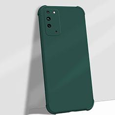 Funda Silicona Ultrafina Goma 360 Grados Carcasa C01 para Huawei Honor X10 5G Verde