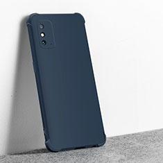 Funda Silicona Ultrafina Goma 360 Grados Carcasa C01 para Huawei Honor X10 Max 5G Azul Real