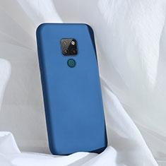 Funda Silicona Ultrafina Goma 360 Grados Carcasa C01 para Huawei Mate 20 Azul