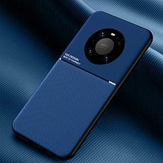 Funda Silicona Ultrafina Goma 360 Grados Carcasa C01 para Huawei Mate 40 Azul