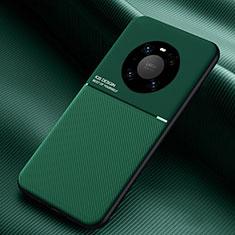 Funda Silicona Ultrafina Goma 360 Grados Carcasa C01 para Huawei Mate 40 Pro Verde