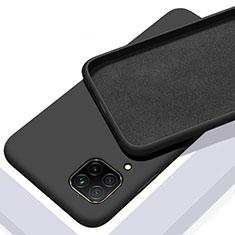 Funda Silicona Ultrafina Goma 360 Grados Carcasa C01 para Huawei P40 Lite Negro
