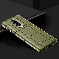 Funda Silicona Ultrafina Goma 360 Grados Carcasa C01 para OnePlus 8 Verde