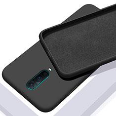 Funda Silicona Ultrafina Goma 360 Grados Carcasa C01 para Oppo R17 Pro Negro