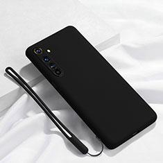 Funda Silicona Ultrafina Goma 360 Grados Carcasa C01 para Realme X50 Pro 5G Negro