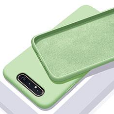 Funda Silicona Ultrafina Goma 360 Grados Carcasa C01 para Samsung Galaxy A80 Verde