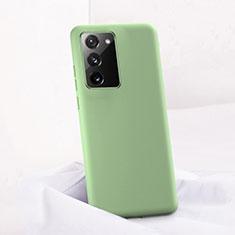Funda Silicona Ultrafina Goma 360 Grados Carcasa C01 para Samsung Galaxy Note 20 5G Verde