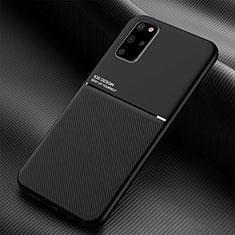Funda Silicona Ultrafina Goma 360 Grados Carcasa C01 para Samsung Galaxy S20 Plus Negro