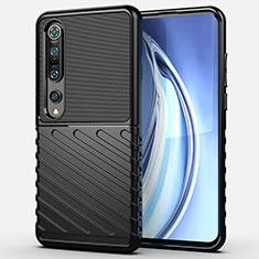 Funda Silicona Ultrafina Goma 360 Grados Carcasa C01 para Xiaomi Mi 10 Pro Negro