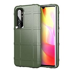 Funda Silicona Ultrafina Goma 360 Grados Carcasa C01 para Xiaomi Mi Note 10 Lite Verde