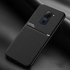 Funda Silicona Ultrafina Goma 360 Grados Carcasa C01 para Xiaomi Redmi Note 9 Negro