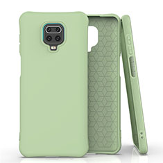 Funda Silicona Ultrafina Goma 360 Grados Carcasa C01 para Xiaomi Redmi Note 9 Pro Verde