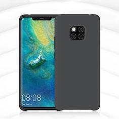 Funda Silicona Ultrafina Goma 360 Grados Carcasa C02 para Huawei Mate 20 Pro Negro