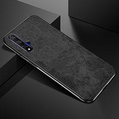 Funda Silicona Ultrafina Goma 360 Grados Carcasa C02 para Huawei Nova 5T Negro