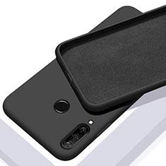 Funda Silicona Ultrafina Goma 360 Grados Carcasa C02 para Huawei P30 Lite Negro