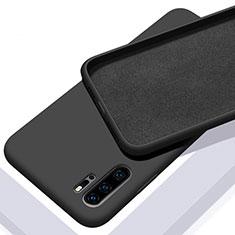 Funda Silicona Ultrafina Goma 360 Grados Carcasa C02 para Huawei P30 Pro Negro