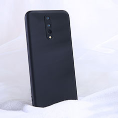 Funda Silicona Ultrafina Goma 360 Grados Carcasa C02 para OnePlus 8 Negro