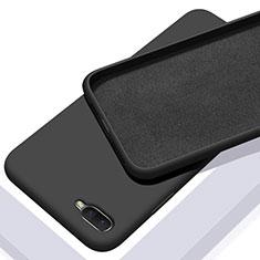 Funda Silicona Ultrafina Goma 360 Grados Carcasa C02 para Oppo R15X Negro