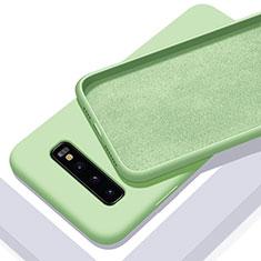 Funda Silicona Ultrafina Goma 360 Grados Carcasa C02 para Samsung Galaxy S10 Plus Verde