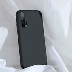 Funda Silicona Ultrafina Goma 360 Grados Carcasa C03 para Huawei Honor 20 Pro Negro
